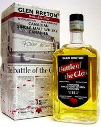 Glen Breton 15 years old Battle of the Glen
