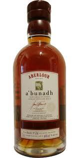 Aberlour a'bunadh Batch No 26
