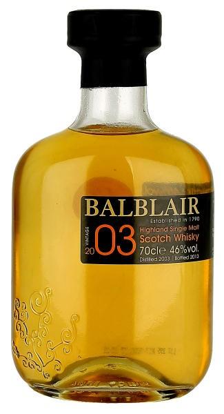 Balblair 2003 Vintage