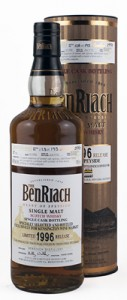 BenRiach 1996 19 Year Old Cask 189