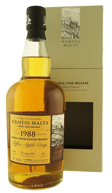 Wemyss - Toffee Apple Crisp 1988 Invergordon