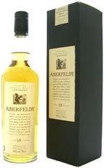 Aberfeldy 15 years old Flora & Fauna