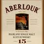 Aberlour 15 years old Sherry Wood Finish