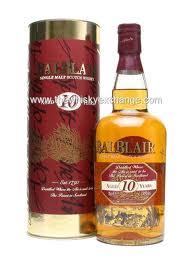 Balblair 10 years old