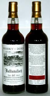 Ballindalloch Whisky Doris