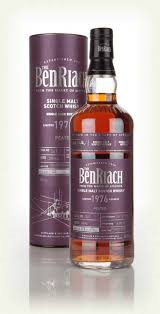 BenRiach 1976 38 Year Old Cask 541