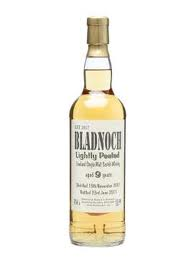 Bladnoch 9 years old Lightly Peated