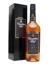Canadian Club 20 years old