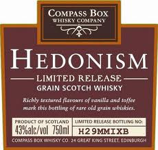 Compass Box - Hedonism