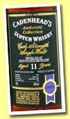 Glen Scotia 11 Years Old Cadenhead's Cask Strength
