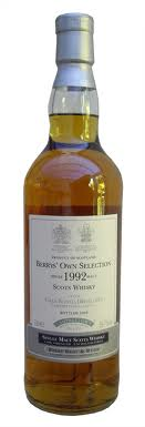 Glen Scotia 16 years old 1992 Berry's Own Selection
