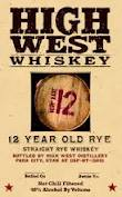 High West 12 Year Old Rye