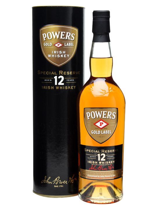 Powers Gold Label 12 Year Old - Special Reserve