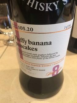 SMWS 105.20 Fluffy banana pancakes