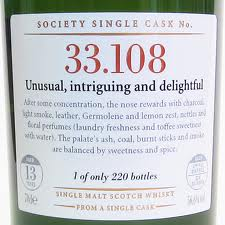 SMWS 33.108 13 years old