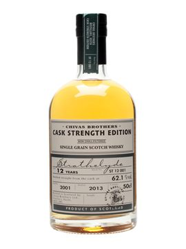 Strathclyde 2001 12 Year Old Single Grain Whisky Cask Strength