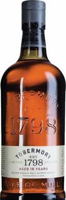 Tobermory 15 years old
