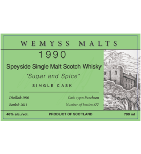 Wemyss - 1990 Sugar and Spice