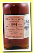 Wemyss - Salted Caramel 1991 Glen Scotia